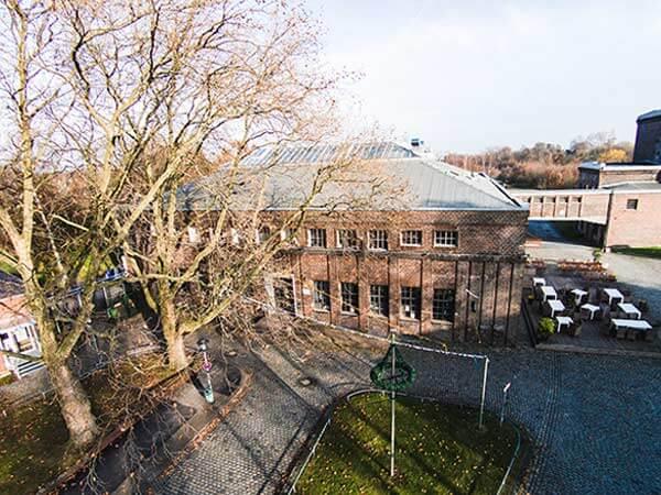 Zechengebäude der Zeche Carl im Ruhrgebiet