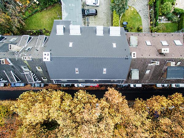 Gewerbliche Immobilie Draufsicht Grundstück NRW