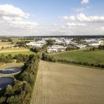 Luftaufnahmen von Kläranlagen im Ruhrgebiet
