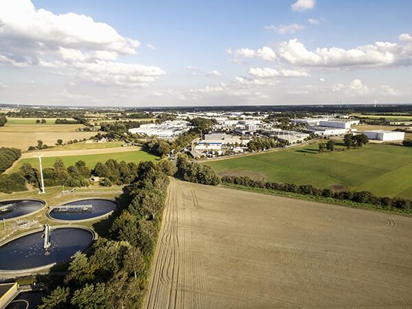 Kläranlagen Luftaufnahmen Gewerblich Ruhrgebiet