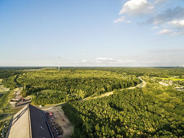 Landwirtschaft Drohnenaufnahmen Ruhrgebiet Natur Windkraft