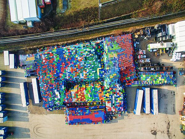 Luftbildaufnahmen Fotodrohne Gewerblich Essener Hafen