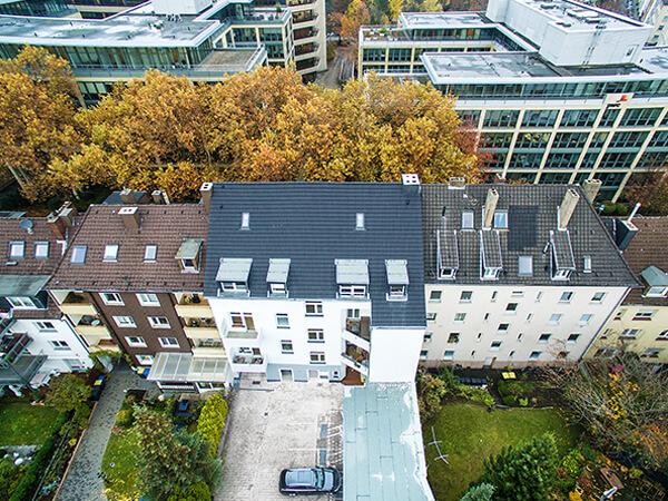 Luftbilder Häusersiedlung von oben NRW