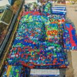 Palettenlager am Hafen in Essen