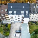 Mehrfamilienhäuser Luftbilder Drohne Ruhrgebiet