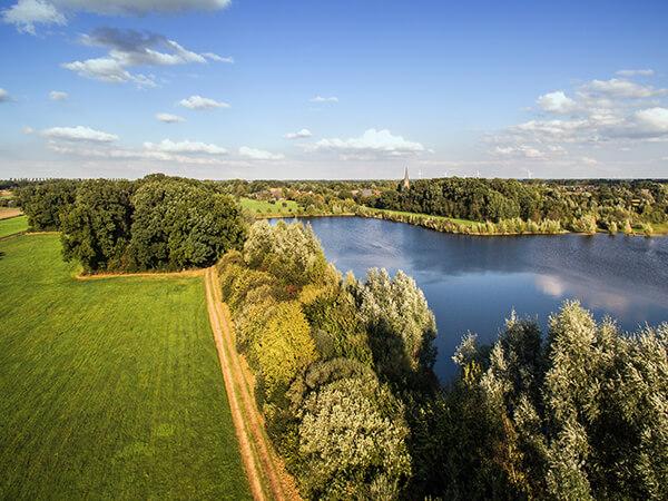 See Luftbildaufnahmen Landwirtschaft Felder Ruhrgebiet Natur