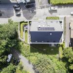 Immobilen Dach von oben