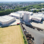 Luftaufnahme eines Unternehmens im Ruhrgebiet