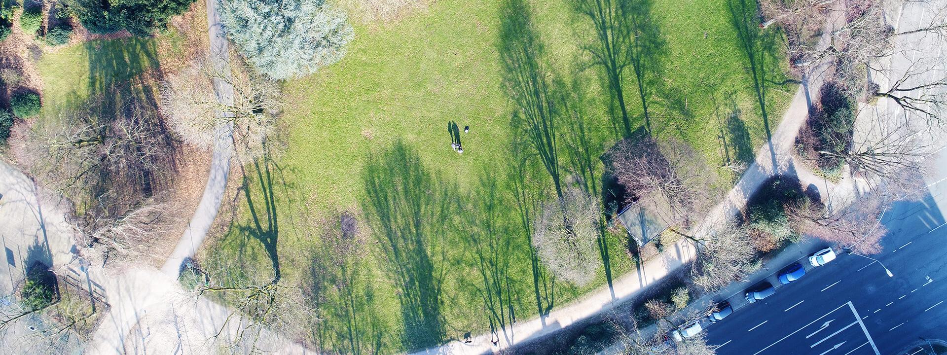 Team der aviate Luftaufnahmen aus Essen