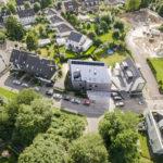 Wohnsiedlung als Drohnenbild